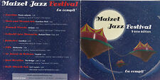 CD COLLECTOR IN PLASTIC SLEEVE 9T MAIZET JAZZ FESTIVAL 9ème EDITION 2007
