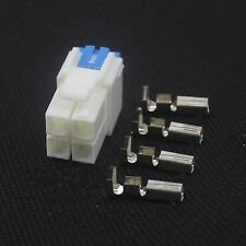 New 4pin Power Connector for YAESU ICOM KENWOOD IC-7000 IC-7600 FT-450 TS-480