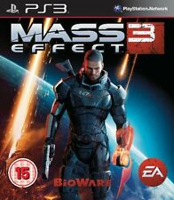 Ps3 Mass Effect 3 III Uncut gioco per Playstation 3 NUOVO