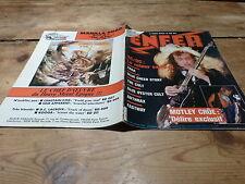 AC/DC - SAGA - CULT - ANTHRAX - FASTWAY - Enfer magazine N°34 de 1986