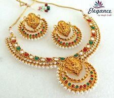 Indian Ethnic One Gram Gold Plated Ramleela Style Bollywood Jewellery