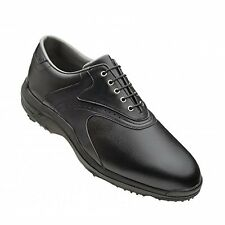 NEW MEN BLACK FOOTJOY GREENJOYS 45462 GOLF SHOES SIZE 11.5 GREEN JOYS NEW IN BOX