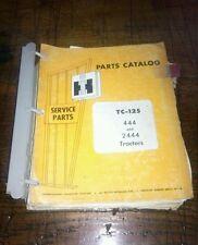 International Harvester Parts Catalog for tractors dealer issued