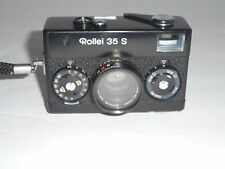 Vintage Rollei 35 S Camera & Case Sonnar f 2.8/40 mm Lens