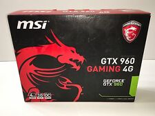 MSI GeForce GTX 960 DirectX 12 GTX 960 GAMING 4G 4GB 128-Bit GDDR5 PCI Express 3