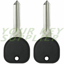 2 New Replacement Transponder Ignition Car Key for Malibu Cobalt Tahoe Sierra