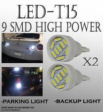 TMZ New 4 pcs White T15 912 906 194 921 LED Bright Backup Reverse Light lamp A97