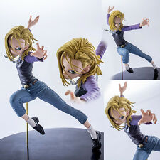 Anime Figure Toy Dragon Ball Z Android 18 lazuli Figurine Statues 15cm