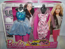 New Barbie Fashion Pack Dresses & Accessories