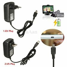 5V2A Mini USB AC/DC Power Supply Adapter Wall Charger EU/US Plug For GPS MP3