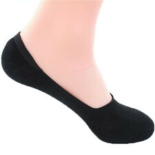 Cute Boat Socks Solid Color Men Silicone Breathable Slip Off Shoe Shallow Mouth