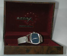 NEW Antique SWISS ARNEX Womens Sterling Silver Wrist Watch Watch w/Band  & Box