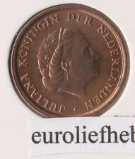NEDERLAND   Nu of nooit     Juliana  1 Cent 1977  UNC/FDC    RARE