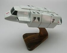 V-TV Series Visitor Transport Spacecraft Desktop Wood Model Small