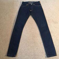 Acne ABBRACCIO/Clear Blue Jeans Skinny Tag Taglia W24/L32-IMMACOLATA - £ 200