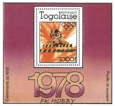 Togo 1978 Mi BL126A ** Olimpiada Olympiade Olympics Sport