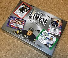 2015-16 LEAF METAL HOCKEY HOBBY BOX FREE SAME DAY PRIORITY SHIPPING