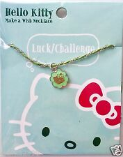 Sanrio Hello Kitty Make A Wish Necklace - Luck/Challenge