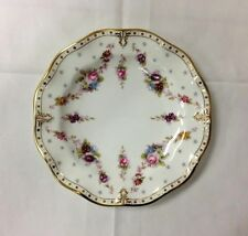 "ROYAL CROWN DERBY ROYAL ANTIONETTE BREAD/BUTTER PLATE 6"" BONE CHINA NEW ENGLAND"