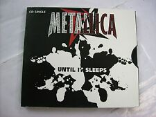 METALLICA - UNTIL IT SLEEPS - CD SINGLE 2 TRACKS U.S.A. PRESS 1996