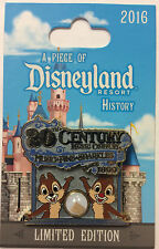 Disneyland 2016 Chip N Dale 20th Century Music Piece of Disney History LE Pin