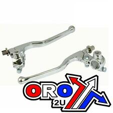 UNIVERSAL Clutch Brake Lever Set w Perch and Mirror Mounts Dirtbike ATV Off Road