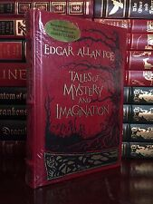 Tales of Mystery & Imagination by Edgar Allan Poe New Leather Bound Illustrated