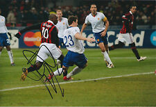 Clarence SEEDORF SIGNED Autograph 12x8 Photo AFTAL COA AC MILAN Italy LEGEND