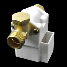"""New Design Electric Solenoid Valve For Water Air N/C 12V DC 1/2"""" Normally Closed"""