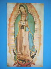 "Catholic Print Picture VIRGIN MARY Our Lady Guadalupe 8x14"" ready to frame"