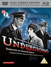 Underground - Dual Format Edition - DVD & Blu ray NEW & SEALED - Anthony Asquith