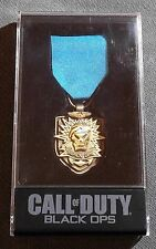Call Of Duty Black Ops Collectible Medal In Plastic Case LIMITED EDITION