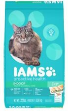 IAMS PROACTIVE HEALTH INDOOR WEIGHT and HAIRBALL CARE Dry Cat Food 22 Pounds