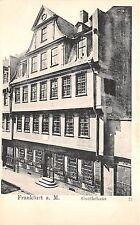 Br35556 Frankfurt Goethehaus germany