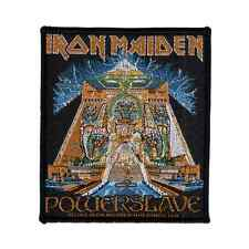 IRON MAIDEN Patch POWERSLAVE Aufnäher ♫ New Wave Of British Heavy Metal ♫ Eddie