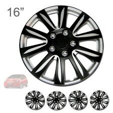 "FOR HONDA NEW 16"" ABS BLACK RIM LUG STEEL WHEEL HUBCAPS COVER 546"