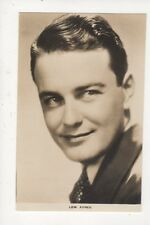 Lew Ayres Actor Vintage Plain Back Photo Card 486a