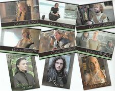 Game Of Thrones Season 5: 100 Card Basic/Base Set & Free P1 Promo Card