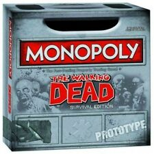 Monopoly The Walking Dead Survival Edition, New, Free Shipping