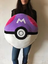 PELUCHE POKEMON SFERA POKE MASTER BALL MASTERBALL 36 CM PLUSH CUSCINO PILLOW #1