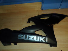 Suzuki GSXR 1000 05 06 right complete front fairing bellypan stealth black K5 K6