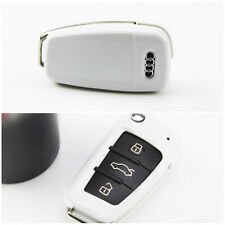 White Key Keyless Entry Remote Fob Key Cover Key Shell FIT Audi A1 A3 Q3 TT