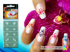 SmART-nails - Splats Nail Art Stencil Set N045 Professional Nail Product