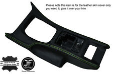 GREEN STITCH CONSOLE GEAR SURROUND LEATHER COVER FITS NISSAN 300ZX Z32 90-96