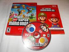 New Super Mario Bros. Wii (Nintendo Wii, 2009) CIB