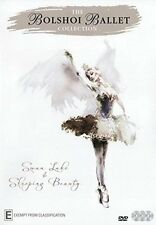 THE BOLSHOI BALLET COLLECTION swan lake /sleeping beauty - DVD - UK Compatible