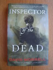 David Morrell Inspector of the Dead 1st ed HC SIGNED Fine