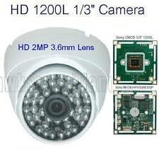 "FB4WS1223 HD1200L Sony CMOS 1/3""48IRx0.5 2MP 3.6mm Lens Weatherproof Dome Camera"