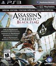 Assassin's Creed IV: Black Flag - 1715 Caribbean Pirate Edward Kenway PS3 NEW