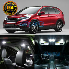 9 Pieces Durable White LED Interior Lights Package Kit For 2013-2015 Honda CRV